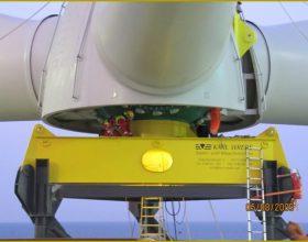 Transportrahmen und Spreize Rotornabe 5 MW