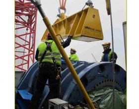traverse rotor shaft assembly 5-6 MW