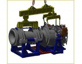 Traverse Kombination Triebstrang 6 MW