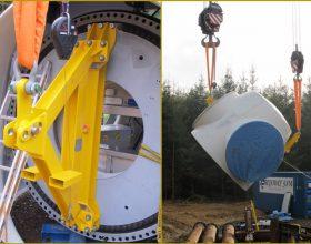 Traverse System Heben und Drehen Nabe 3 MW
