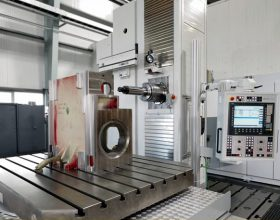 UNION TC 110 - CNC-Tischbohrwerk mit Palettenwechsler
