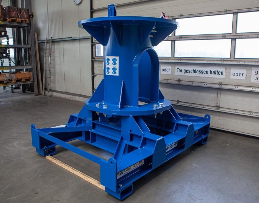 universal deposition rack rotor star