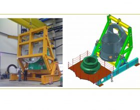 Wendevorrichtung Maschinengehäuse 150 t